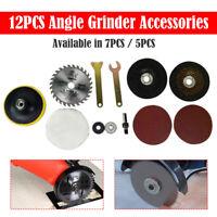 12/7/5pcs/Set Cutting Grinding Disc Polished Wheel Sawblade for Angle Grinder