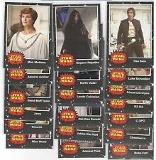 2017 Topps Star Wars May the 4th On Demand 20 Card Complete Base Set (1-20)