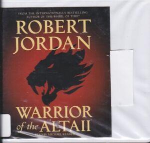 WARRIOR OF THE ALTAII by ROBERT JORDAN ~ UNABRIDGED CD AUDIOBOOK