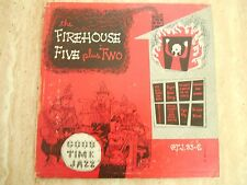 "10"" LP THE FIREHOUSE FIVE PLUS TWO ""GOOD TIME JAZZ"" 1953"