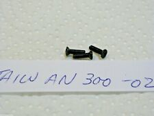 Taiwan Mitchell 300 Reel Black Side Plate Screw X 3 Used Best - Good Used
