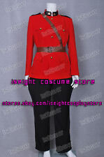 Due South Costume Red Mountie Serge Uniform Jacket Pants * Free Fast Shipping
