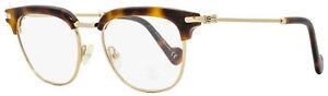 Moncler Oval Eyeglasses ML5021 053 Blonde Havana 49mm 5021