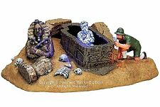 Lemax 74593 MUMMYS TOMB Spooky Town Table Accent Halloween Decor Decoration O I