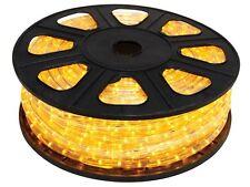 GUIRLANDE LUMINEUSE FLEXIBLE LUMINEUX LED JAUNE ETANCHE 45M DECORATION FETE NOEL