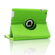 [Maiden Girly Pink] Rotating Folio Stand Smart Leather Case Cover for iPad 2 3 4