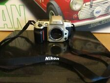 NIKON F60 35MM SLR FILM CAMERA BODY + STRAP WORKING
