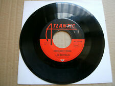 """7"""" Single - Led Zeppelin - Immigrant Song / Hey,Hey,What Can I Do"""