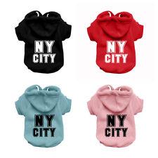 NY CITY Dog Sweatshirt Hoodie - Dog Sweater - Dog Jumper - Printed Dog Clothing