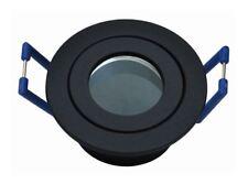 3xfeuchtraumspot Einbauleuchte Lampe Anthrazit für 35mm LED oder Halogen