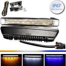 Driving Lamp DRL 54 LED 3 Color Turn Signal Daytime Running Light for V W P 911