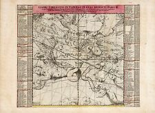 Old Vintage Decorative Stars map Andromeda Aquarius Doppelmayr ca. 1742