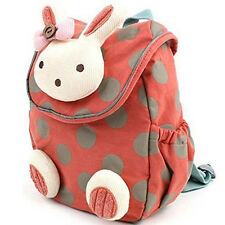 3D Animal Rabbit Anti-lost Baby Backpack Toddler Kids School Bag Stationery