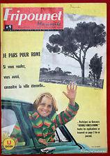 Fripounet Marisette Coeurs Vaillants  N° 9 du  28 FEVRIER 1963 bon etat