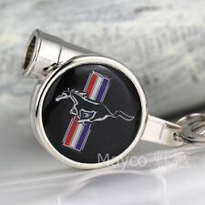 Auto logo Emblem Turbo Turbine schlüsselanhänger schlüsselring für Mustang