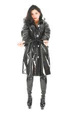 Regenmantel Raincoat Rainwear Impermeable Manteau de pluie unisex schwarz S-3XL