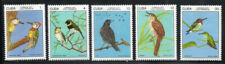 6CUBA   Sc# 2121-2125  BIRDS BIRDS BIRDS Cpl set of 5  1977  MNH mint