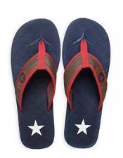 Disney Authentic Captain America Mens Flip Flops Sandals 9/10 Marvel Avengers