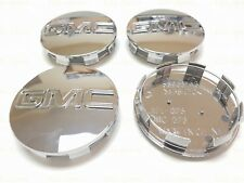 4PCS GMC Chrome Center Wheel Center Caps Fit For Sierra Denali Yukon 83MM 3.25""