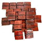 25 Pcs Hamdmade Brown Leather MINIATURE MIX Pocket Diary Journal Christmas Gift