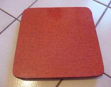 Dessous de Plat Vintage Formica  Rouge    An 50's   Jan19