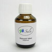 (4,79/100ml) Sala Rizinusöl kaltgepresst 100% reines Rizinus Öl 100 ml