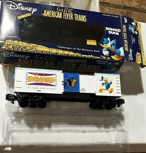American Flyer By Lionel S Gauge #6-48351 Donald & Daisy Box Car  new in box