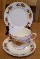 QUEEN ANNE  BONE CHINA RIDGEWAY POTTERIES TRIO CUP SAUCER AND PLATE