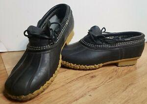 LL Bean Duck Boots Woman's Size 9 FM marking