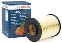 GENUINE BOSCH AIR FILTER S0492 FITS FORD FOCUS KUGA CONNECT MAZDA 3 5 VOLVO C30