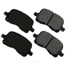 Disc Brake Pad Set-Proact Ultra Premium Ceramic Pads Front Akebono ACT741