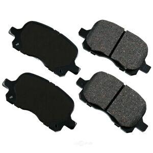 Disc Brake Pad Set-w/o ABS Front Akebono ACT741