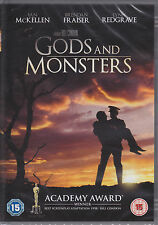 Gods  and  Monsters  starring  Ian  McKellen Brendan Fraiser New & Sealed R2 DVD