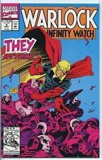 Warlock and the Infinity Watch 1992 series # 4 near mint comic book