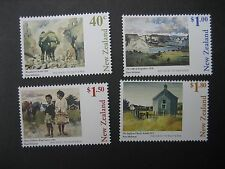 NEW ZEALAND 1998 PAINTINGS BY PETER McINTYER SET NHM SG2174/7