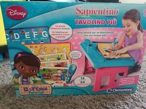 """SAPIENTINO """"TAVOLO PIÙ"""" DOTTORESSA PELUCHE."""