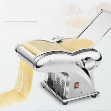 110V Small Electric Pasta Maker Dumpling Dough Skin Noodles Machine w/ 4 Blades