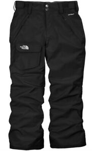 NEW The North Face Girls Freedom Ski Pants Insulated Medium Ages 10 12 Black $99
