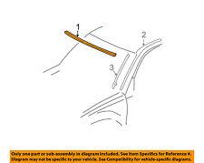 TOYOTA OEM 01-05 RAV4 Windshield-Reveal Molding 7553142010