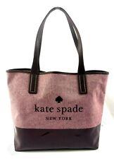 Authentic Kate Spade Ash Street Logo Triple Compartment Tote Handbag