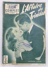 FILM COMPLET N° 361 L'AFFAIRE DE TRINIDAD RITA HAYWORTH GLENN FORD SCOURBY