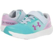 New Under Armour Surge RN Prism Preschool Girls' Athletic Shoes Size 11k
