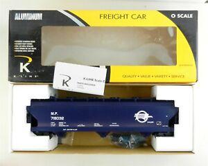 K-Line O K6243-1711 MP Aluminum 3-Bay Center Flow Hopper 718032 Blue ~MIB~ T192