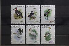 Angola 701-706 ** postfrisch Vögel #TS817