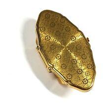 STRATTON YELLOW TONE Decorative Oval Cuff Mirror Ring, 35 x 65mm, O.5  - E37