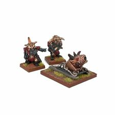 KINGS OF WAR - ABYSSAL DWARF GROG LIGHT MORTAR -KINGS OF WAR - MANTIC GAMES