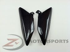2007-2012 Honda CBR600rr Rear Tail Exhaust Side Covers Fairing Cowl Carbon Fiber