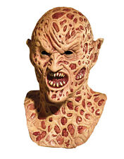 Nightmare On Elm Street Costume Accessory, Mens Freddy Krueger Demon Full Mask