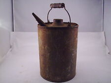 "Small Pour Can Lamp Oil Kerosene Can 11"" Tall  #505"