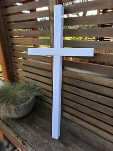 HOLIDAY CHRISTMAS OR EASTER INSPIRATIONAL CROSS INDOOR/OUTDOOR